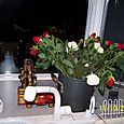 Roses in my kitchen