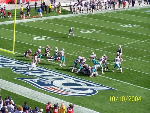 Patriots Score against Miami-- Winning # 19